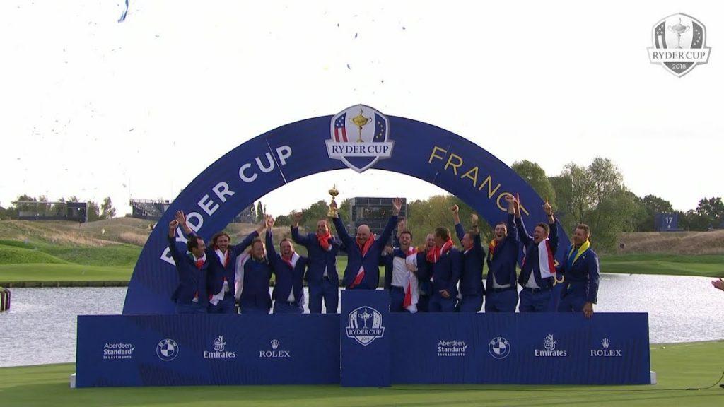Giải golf Ryder CUP tại Paris 2018