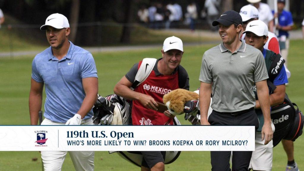 Image result for McIlroy, Brooks Koepka và Jon Rahm