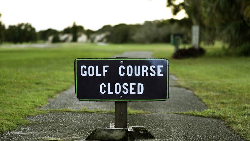 châu âu đóng cửa sân golf