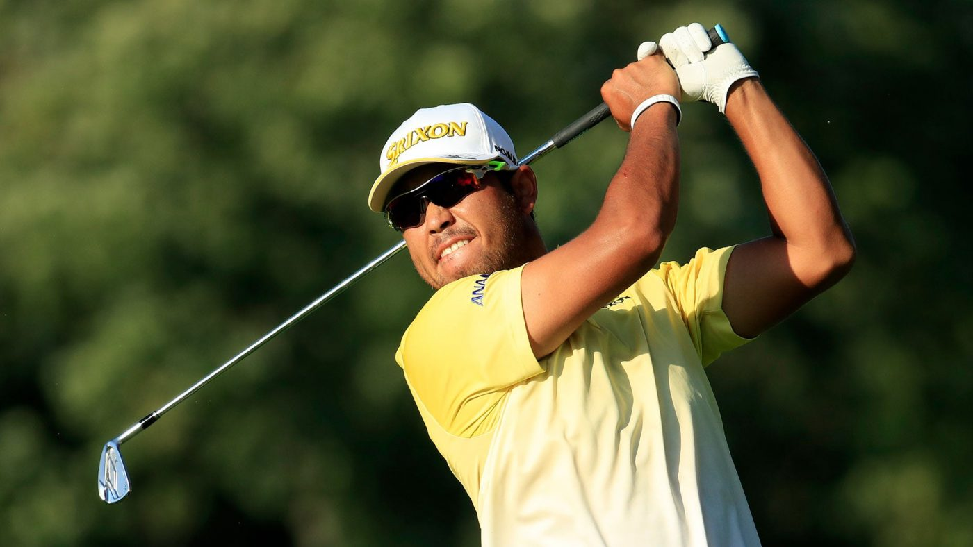 Hideki Matsuyama Du1eabn u0111u1ea7u Tiger Woods Gu1eb7p Khu00f3 Tu1ea1i Bmw Championship