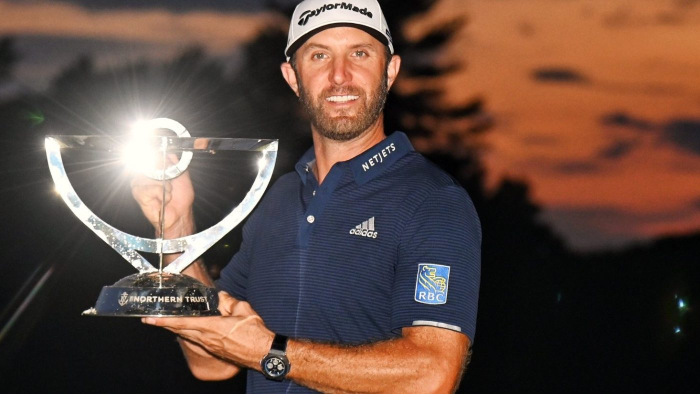 Vô địch Northern Trust, Dustin Johnson lên số 1 thế giới và FedEx Cup.3