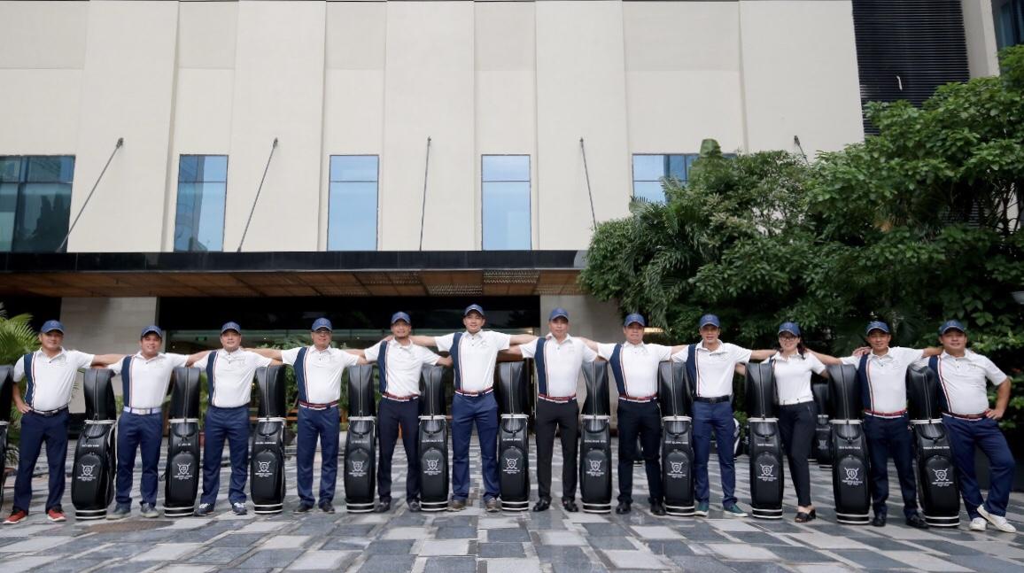 'Tân binh' CLB golf Luật sư ra quân tại giải VĐ các CLB Golf Hà Nội
