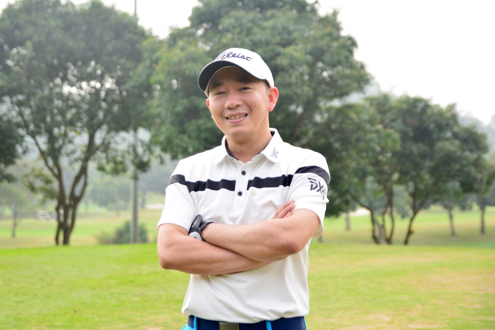 Golfer Lê Đức Thọ